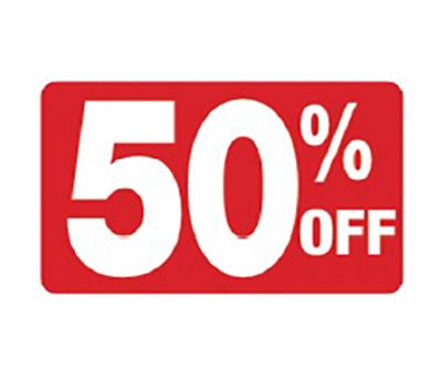 Half Price Shoe Sale