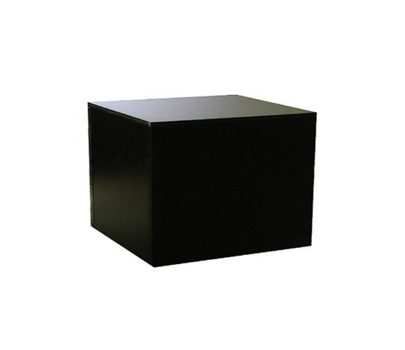 Tables, Pedestals & Cubes : Black 12 Inches Pedestal