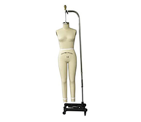 Size 12 Female Dressmaker Form with Legs