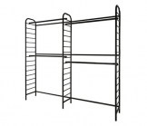 Ladder Double Two-Tier Wall Unit