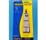 Clear Thickened Acrylic Cement