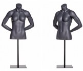 Female Athletic Torso Form - Arms Behind Back