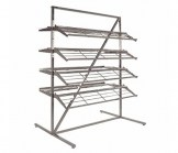 T-Style Collapsible Shoe Rack