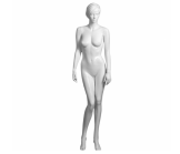 Glossy White Realistic Female Mannequin