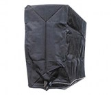 Deluxe Garment Rack Cover with Zipper