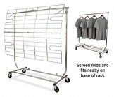 Screen /Shelf for Salesmans' Collapsible Rack