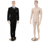 Realistic Male Mannequin - Arms at Side