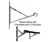 V-Bracket For 1 1/4 Inch Diameter Pipe