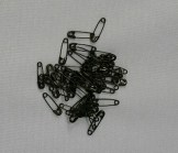 Dressmaker Safety Pins - Black