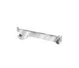Satin Chrome Extra Heavy Duty Hangrod Bracket - 12 Inches Long