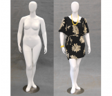 Plus Size Egghead Mannequin - Arms at Side