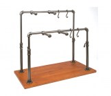 Pipeline Collection Double Bar Adjustable Accessory Merchandiser