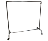 Raw Steel Adjustable Height 1 Inch Diameter Rack